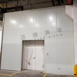 静音房设计建造 迅达电梯静音房工程案例 泛德声学