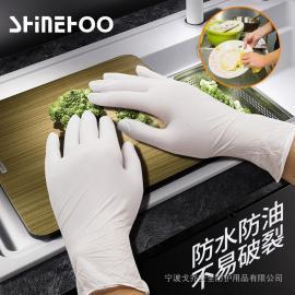 水产业专用丁腈手套,密封化的构造不渗透。玻璃品以及化工产业也