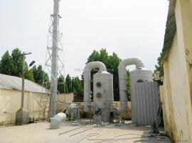 PP洗涤塔喷漆废气除臭装置旋流喷淋塔碱液洗涤塔设计定制加工