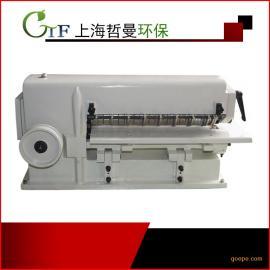 无纺布 布料分条机 可用于皮革人造革纸材塑料板材等断布机 布料