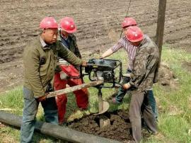 钻电杆孔挖坑机价格