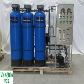 华兰达厂家小型海水淡化设备 采用反渗透高盐水淡化技术除盐设备