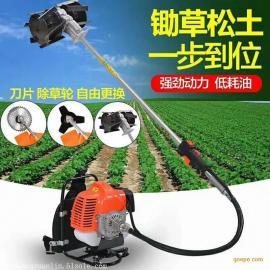 秒速清除各种杂草就选雷力背负式锄草机