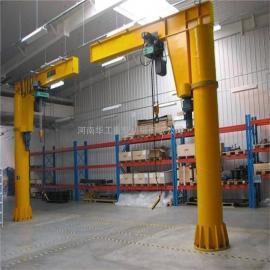 供应2t电动旋转悬臂吊 生产线流水线用悬臂吊 移动式旋臂起重机