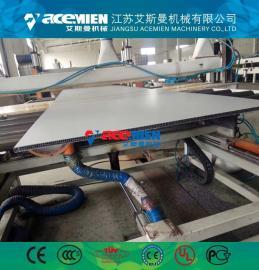 厂家直销PP/PE中空建筑模板生产线、塑料中空建筑模板设备