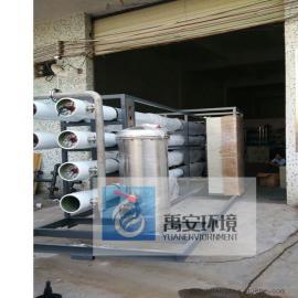 八月特价垃圾渗滤液处理设备YASL-10T运用MBR+NF+RO膜法处理