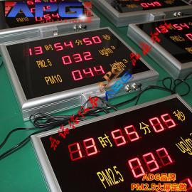 在线PM2.5PM10时间显示器
