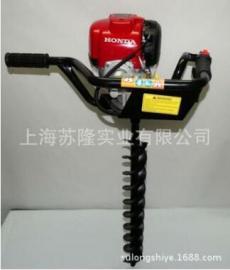 本田HONDA GX35挖坑机,本田原装GX35齿轮式种植机, GX35地钻