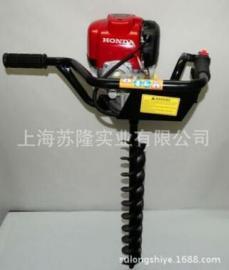 本田GX35蜗杆式种植机,本田HONDA GX35挖坑机,本田地钻挖坑机