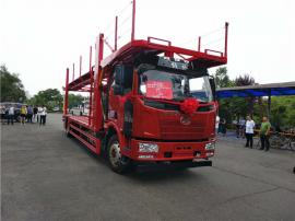 厂家促销最新轿运车价格 新款一拖五两层中置轴轿运车
