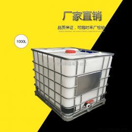 包装定制全新桐乡ibc吨桶pe塑料加厚500L1000L方形化工运输桶