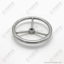 供应内开人孔手轮 方向盘式手轮 M16 M20 M24 304不锈钢手轮