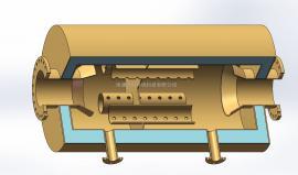 DN250 抗式消音器