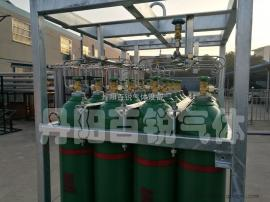 氢气钢瓶集装格*新照片