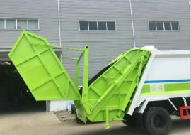 压缩带摆臂斗垃圾车