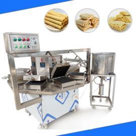 全自动电加热鸡蛋卷机器/鸡蛋卷制作设备易操作省人工