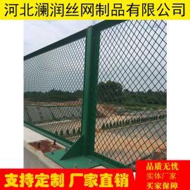 菱形孔钢板网防抛防落物网