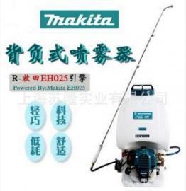 日本牧田EH025背负式动力喷雾器、牧田四冲程高压打药机