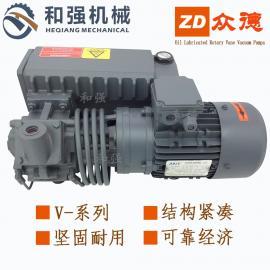 出售ZD众德油润滑旋片式风泵V0063真空吸盘用油式吸气泵 1.5KW