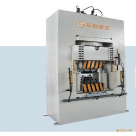 乐桐YJ61精冲油压机环保伺服系统框架式精冲液压机