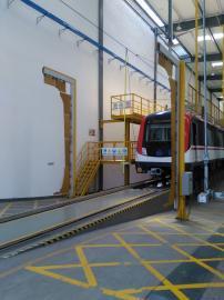 限界检测装置,地铁车辆限界检测设备,可数据输出
