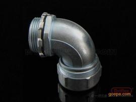 90度软管接头,锌合金材质 ,金属软管连接接头,耐腐蚀质量好