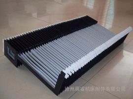 折叠式风琴防护罩,PVC风琴式导轨防护罩