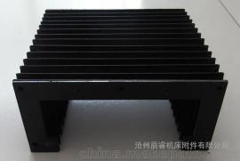 切割机设备风琴式护罩|光纤激光设备风琴导轨防护罩