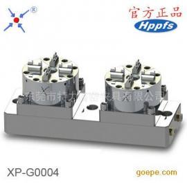 优质2头气动卡盘 D100气动工装夹具 CNC快速定位电极夹具