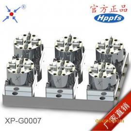 CNC快速定位工装夹具 爱路华工装夹具 6头气动定位工装夹具