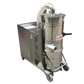 威德尔5500W不锈钢架大型工业吸尘器耐用铁屑焊渣颗粒吸尘器