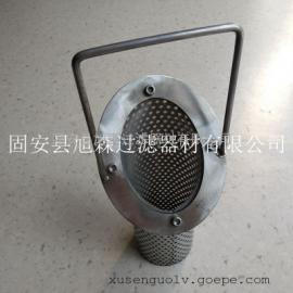 不锈钢篮式过滤器_斜端口粗效滤油篓生产厂家