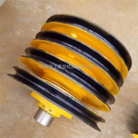 *生产抓斗上下滑轮组 导绳轮 32t起重机滑轮组 非标定做