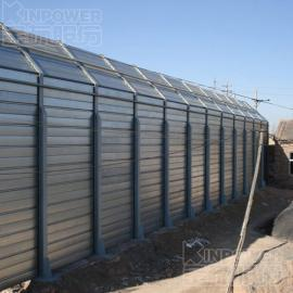 铝合金隔音墙在风冷热泵空调机组隔音中降低噪音