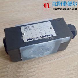 HIROSE广濑HMPC-W-03-20S-11止回阀
