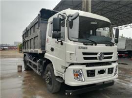 自来水公司12吨密封式污泥装载车-12立方污泥自卸垃圾车价格说明
