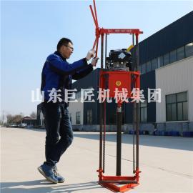 QZ-2B型汽油机轻便取样钻机拆解方便多功能地质勘探钻机