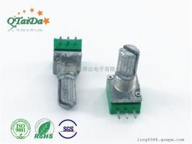 R097旋转电位器音箱电位器音量电位器可调电阻塑封电位器
