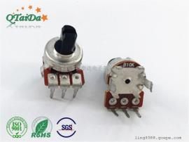 厂家直销R12碳膜电位器B50K电位器,控温电位器