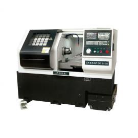 高精密数控车床CK6432可装自动上下料机器人机械手捷众机床