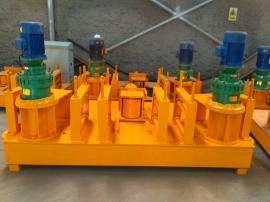 液压H型钢弯拱机成型原理