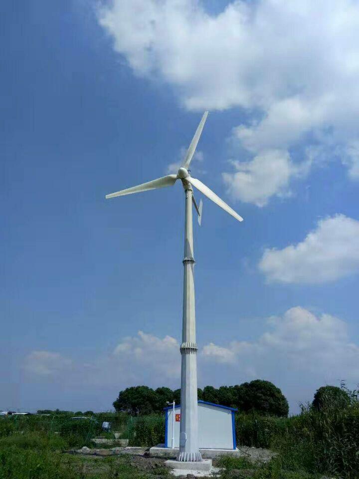 10kw景观岛屿美化专用小型风力发电机高效永磁发电机