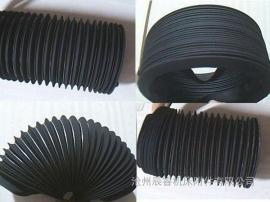 钢丝圈支撑丝杠防护罩 领口连接丝杠防护罩十年厂家