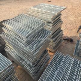 热镀锌钢格板平台盖板 楼梯脚踏步 地沟水沟井盖板 格栅板
