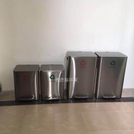 办公室分类不锈钢垃圾桶
