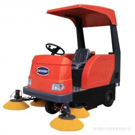 工厂用扫地车,工业车间地面粉尘厂房灰尘电动电瓶清扫车