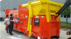16立方18立方移动式压缩垃圾站厂家