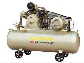 活塞式连续运转空压机2.4立方开山KS240系列工业用气泵
