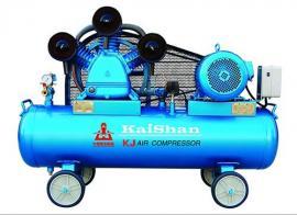 开山牌活塞式空压机KJ-100不漏油气晋州工业清洁用