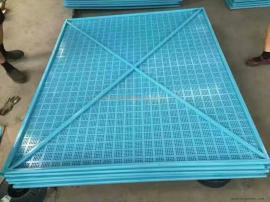 米字冲孔爬架安全网全钢建筑提升架施工外围防护网
